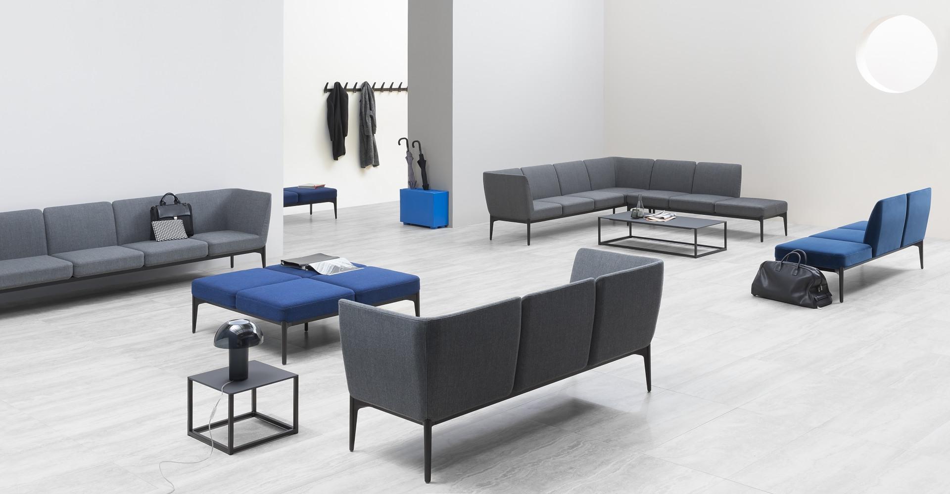 pedrali sillones y sofas para oficinas