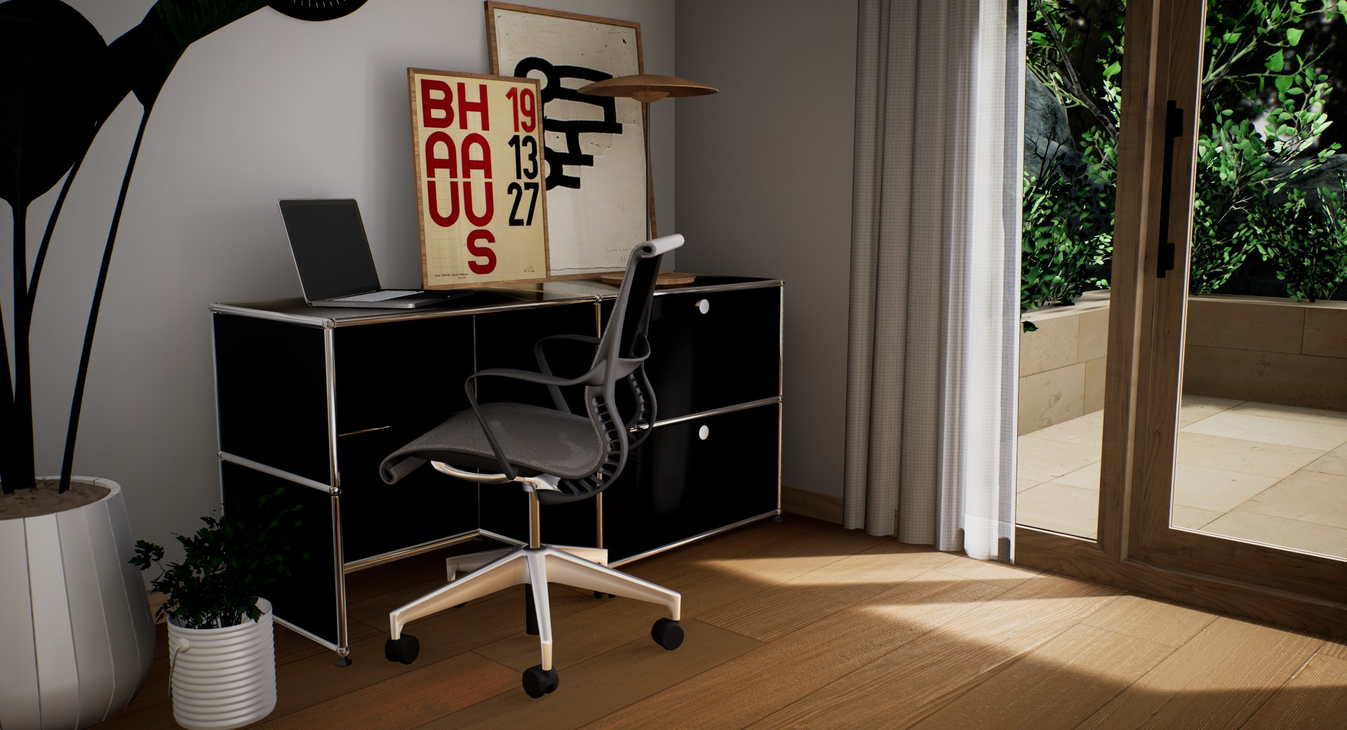 home office - pack black