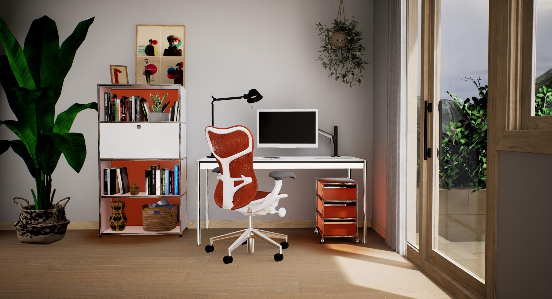 home office - pack orange