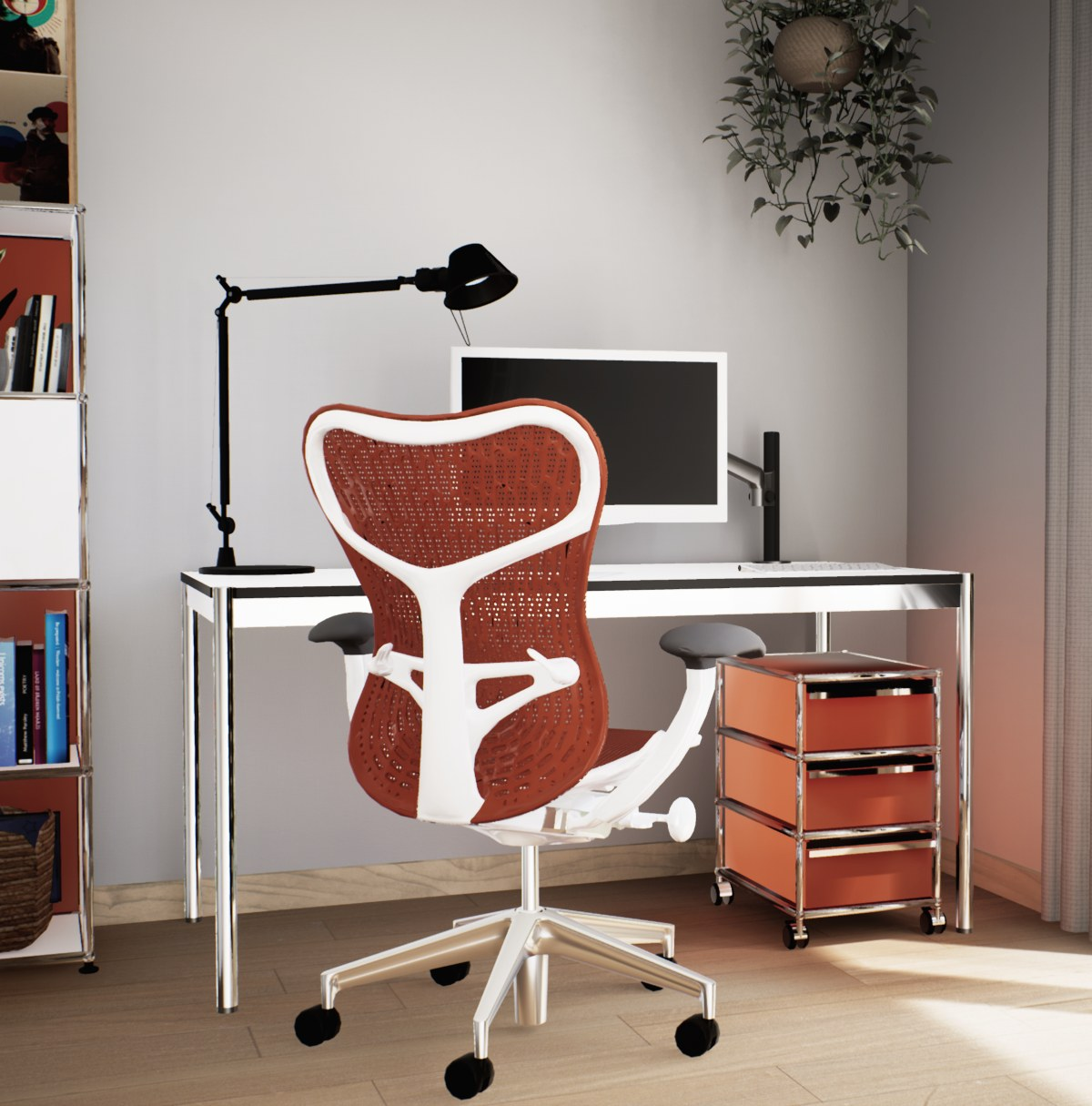 home office - pack red