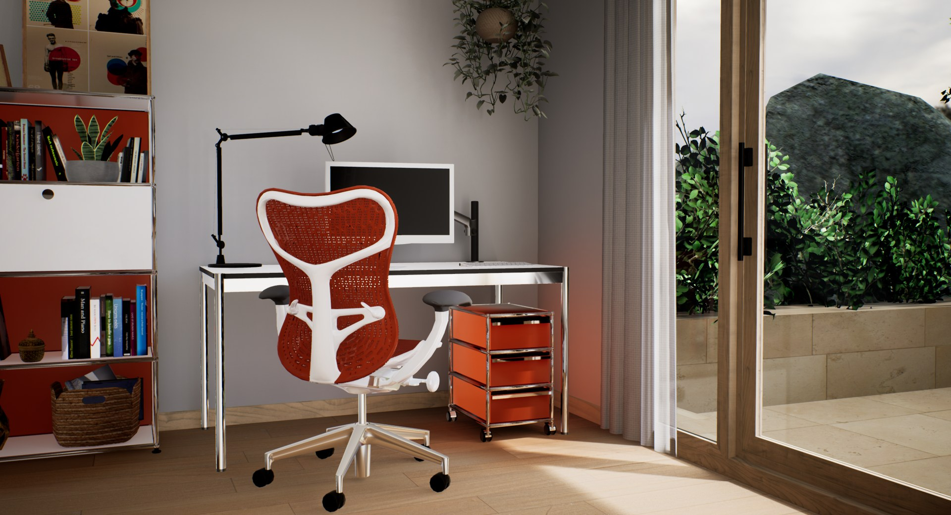 home office - pack orange