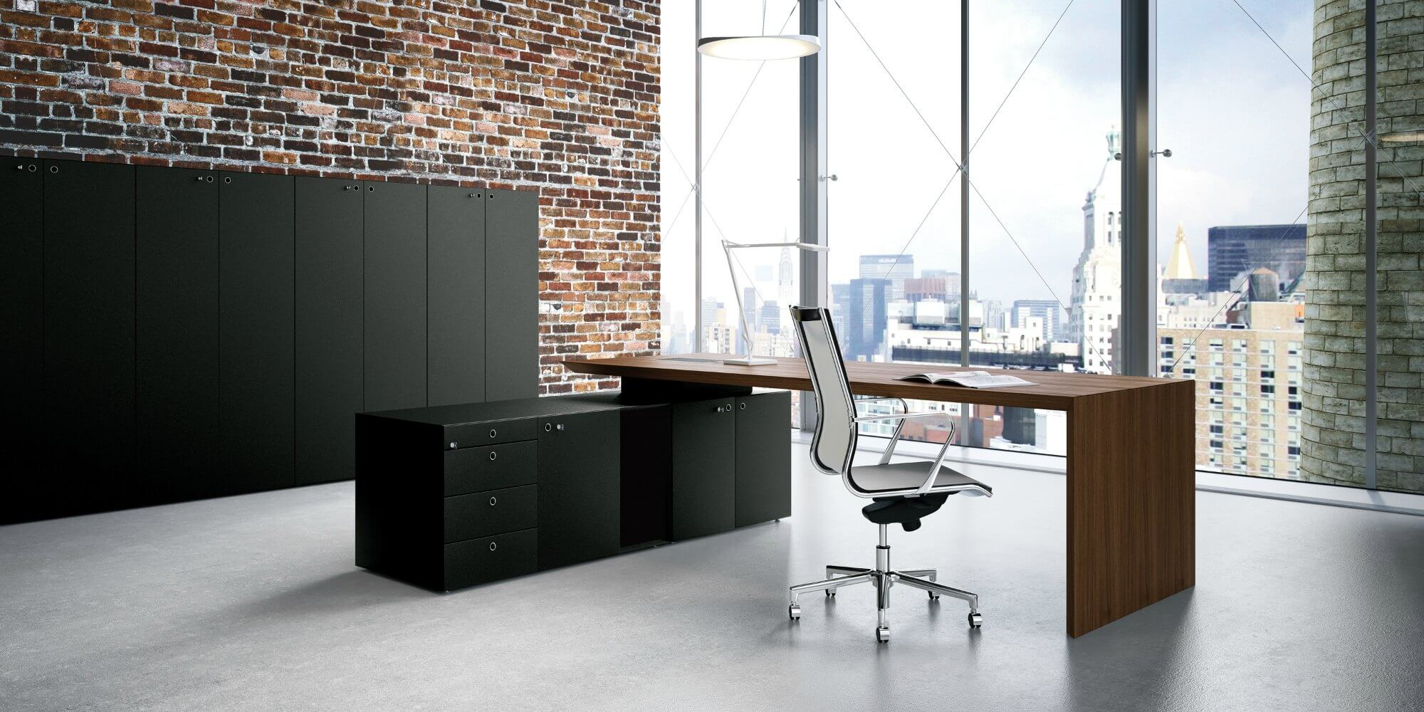 Mobiliario de oficina fantoni multiplceo adeyaka barcelona for Servicios de oficina