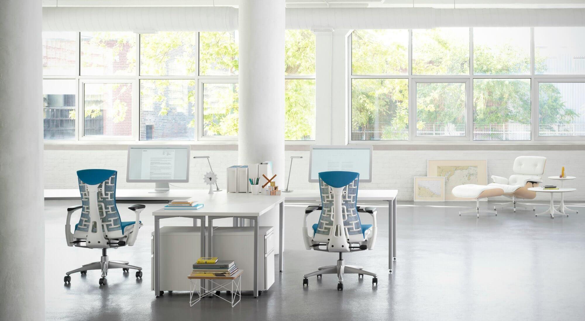 Sillas ergon micas para oficinas adeyaka bcn - Sillas de oficina barcelona ...